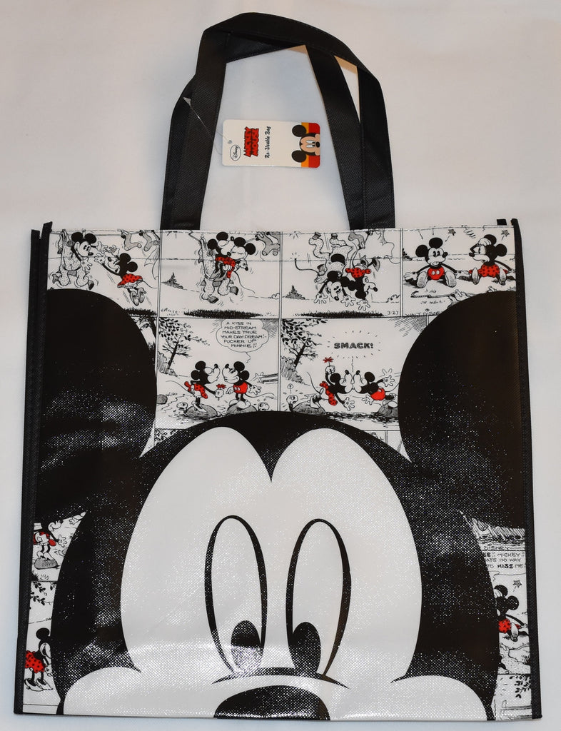 Mickey Mouse Disney TOTE BAG Comic SHOPPER SHOPPING SHOULDER WIPE CLEAN BNWT