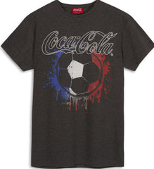 COCA COLA OFFICIAL MENS T SHIRT PRIMARK FOOTBALL NEW UK Sizes M - L
