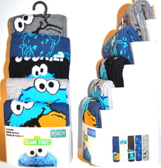 Cookie Monster Socks Primark Sesame Street Mens 5 Pack UK Size 6 to 8 or 9 to 12