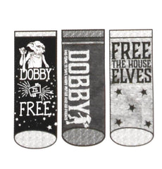 Harry Potter Socks Primark Free Dobby Shoe Liner Trainer Sock 3 Pack Size 4 to 8
