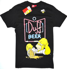 Duff Beer Homer T Shirt 100% Cotton Simpsons Primark Mens UK Sizes M to XXL