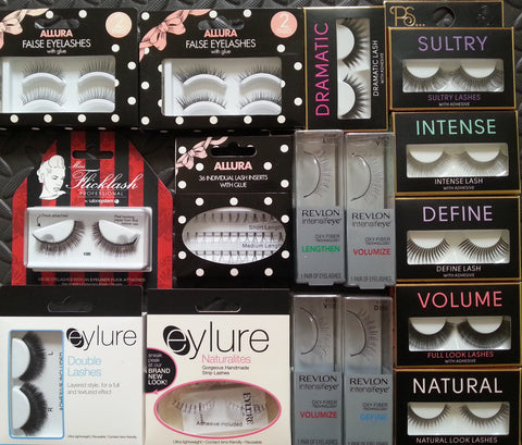 Fashion False Eyelashes Primark Revlon Flicklash Eylure PS Inserts & More - Click. Buy. Love. - 1