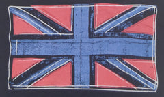 PRIMARK Boys British UK Flag Union Jack T-Shirt Navy Size 7 - 13 Years BNWT
