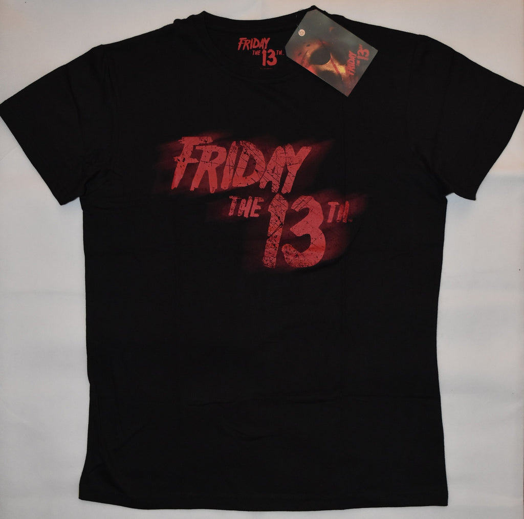 Primark Friday the 13th MENS T SHIRT Black Red Horror Film NEW UK Sizes XS - XXL