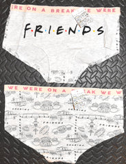 Friends Knickers Panties F.R.I.E.N.D.S On A Break Womens Ladies UK Sizes 8 to 22