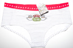 Friends Knickers Panties Central Perk Underwear Women Ladies UK Sizes 8 to 20