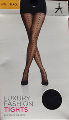 SEXY FASHION TIGHTS Disney Mickey Mouse Suspender Fishnet Stripe Rip PRIMARK NEW