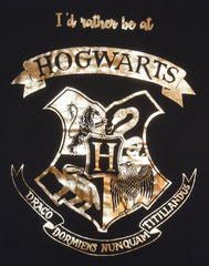 PRIMARK HOGWARTS CREST PJ NIGHTIE HARRY POTTER Blue Stripe UK Sizes 4 - 24 NEW