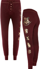 HARRY POTTER PJ Bottoms PRIMARK HOGWARTS LEGGINGS HOUSE CRESTS  Sizes 4 - 20