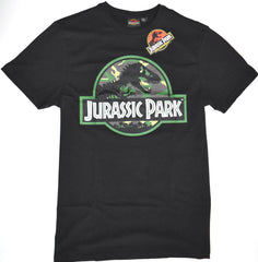 Jurassic Park T Shirt Primark 100% Cotton Camo Black Mens UK Sizes M to XXXL