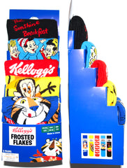 Kelloggs Socks Primark Frosted Flakes Frosties Mens 5 Pack UK 6 to 8 or 9 to 12