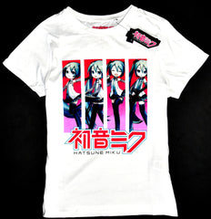 Hatsune Miku T Shirt Primark 100% Cotton Womens Ladies UK Sizes 6 to 24