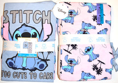 Stitch PJ Set Disney Primark Lilo Womens Ladies Pyjamas Pijamas UK Size 12 to 20