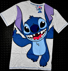 Stitch Nightie Disney PJ Primark Night Shirt Sleepshirt Womens Lilo Sizes 10-20