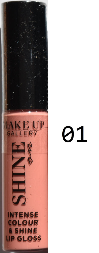 Make Up Gallery Lip Gloss 'Shine On' NEW SEALED Red Pink Nude Sparkle Natural - Click. Buy. Love. - 2