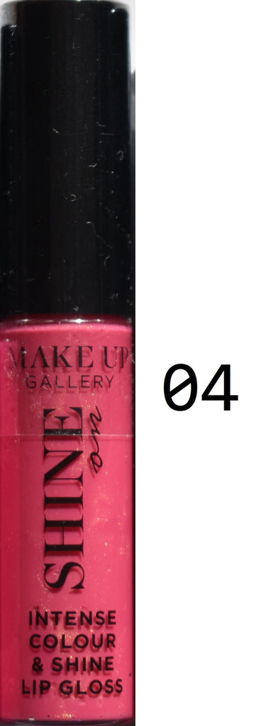 Make Up Gallery Lip Gloss 'Shine On' NEW SEALED Red Pink Nude Sparkle Natural - Click. Buy. Love. - 5