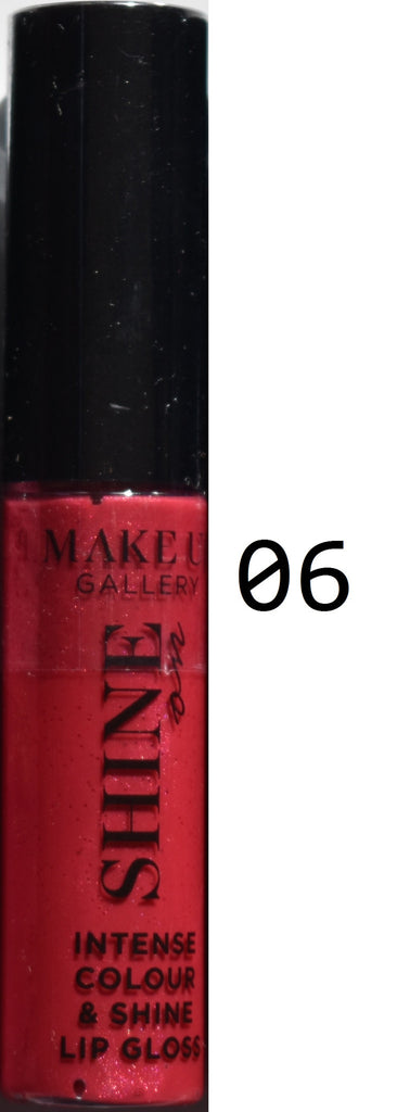Make Up Gallery Lip Gloss 'Shine On' NEW SEALED Red Pink Nude Sparkle Natural - Click. Buy. Love. - 6
