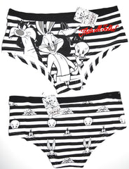 Looney Tunes Knickers Panties Bugs Tweety Sylvester Womens Ladies Sizes 6 to 22