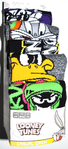 Looney Tunes Socks Primark Bugs Marvin Taz Mens 5 Pack UK Size 6 to 8 or 9 to 12