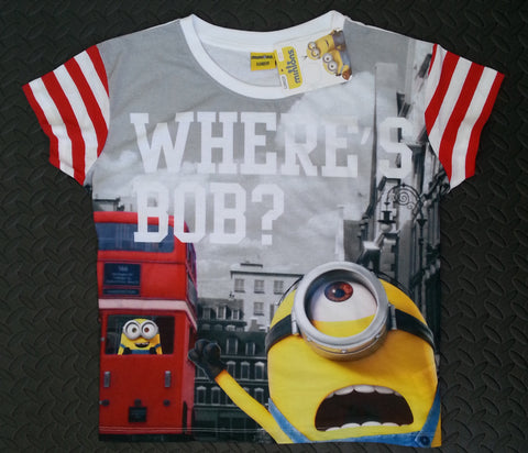 Primark Minions T-Shirt PJ Style Womens Top Sizes 6-20 Official Licensed - Click. Buy. Love. - 1