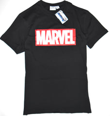 Marvel T Shirt Mens PRIMARK Black 100% Cotton Avengers Endgame UK Sizes M - XXXL