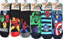 Men's Socks Marvel Avengers Captain America Iron Man Hulk Spiderman UK 6-11 - Click. Buy. Love. - 1