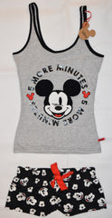 PRIMARK Disney Mickey Mouse Vest & Shorts Set PJ  PYJAMAS UK Sizes 6- 20 NEW