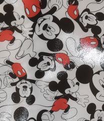 Mickey Mouse Disney BAG TOTE Multi SHOPPER SHOPPING SHOULDER WIPE CLEAN BNWT