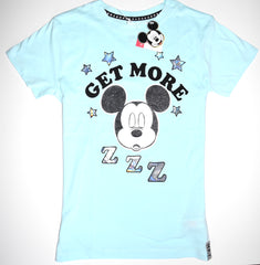 Mickey Mouse T Shirt Disney Primark 100% Cotton Womens UK Sizes 6 to 20