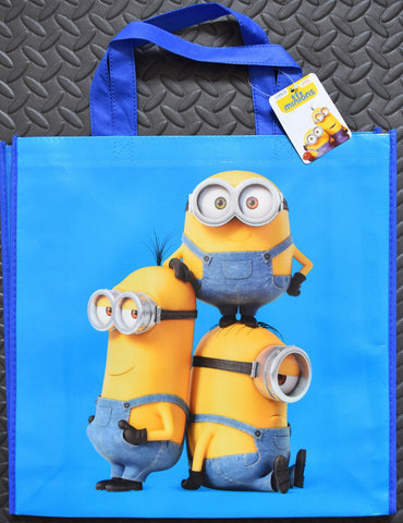 Minions Despicable Me TOTE SHOPPER SHOPPING SHOULDER BAG WIPE CLEAN BNWT - Click. Buy. Love. - 1