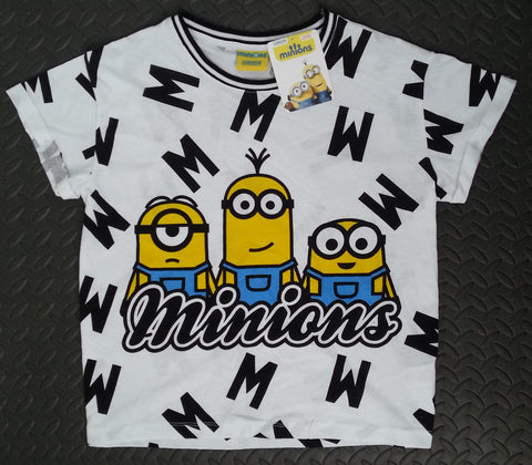 Primark Minions T-Shirt Despicable Me PJ Ladies Top New Sizes 6 - 20 - Click. Buy. Love. - 1