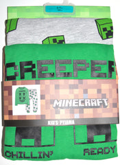 Minecraft PJs Primark Boys Teens Teenager Long Pyjamas Kids Ages 8 - 13 Years