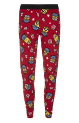 PRIMARK Minions Popcorn PJ Leggings RED Bottoms Sizes 6 - 20 NEW - Click. Buy. Love. - 1