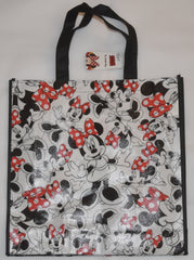 Minnie Mouse Disney BAG TOTE Multi SHOPPER SHOPPING SHOULDER WIPE CLEAN BNWT