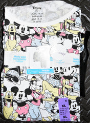 Classic Disney PJ Set Primark Mickey Womens Ladies Pyjamas Pijamas Sizes 6 to 20
