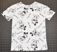 Primark MICKEY MOUSE T Shirt Womens Ladies DISNEY Neon Spots UK Sizes 4-20 NEW