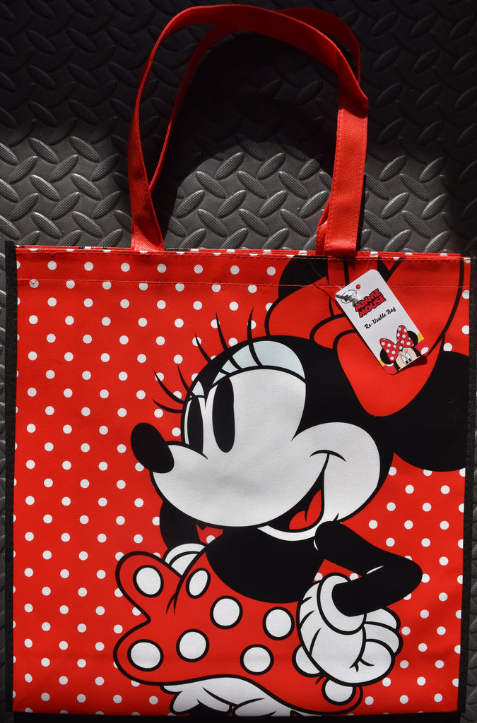 Disney Minnie Mouse TOTE SHOPPER SHOPPING SHOULDER BAG Red White Spots BNWT - Click. Buy. Love. - 1