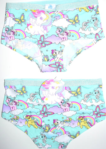 My Little Pony Knickers Panties Rainbow Underwear Women Ladies UK Sizes 6 to 20