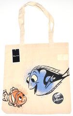 Finding Nemo Dory Canvas Tote Bag 100% Cotton Disney Shopping Shoulder BNWT