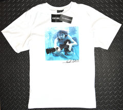 Nirvana T Shirt Mens Primark 100% Cotton Oversized Tee UK Sizes S to XL