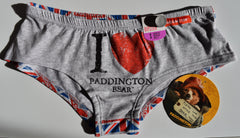 Primark Paddington Bear Knickers 'I Love' Hipster Briefs Underwear UK 6-20 NEW - Click. Buy. Love. - 1