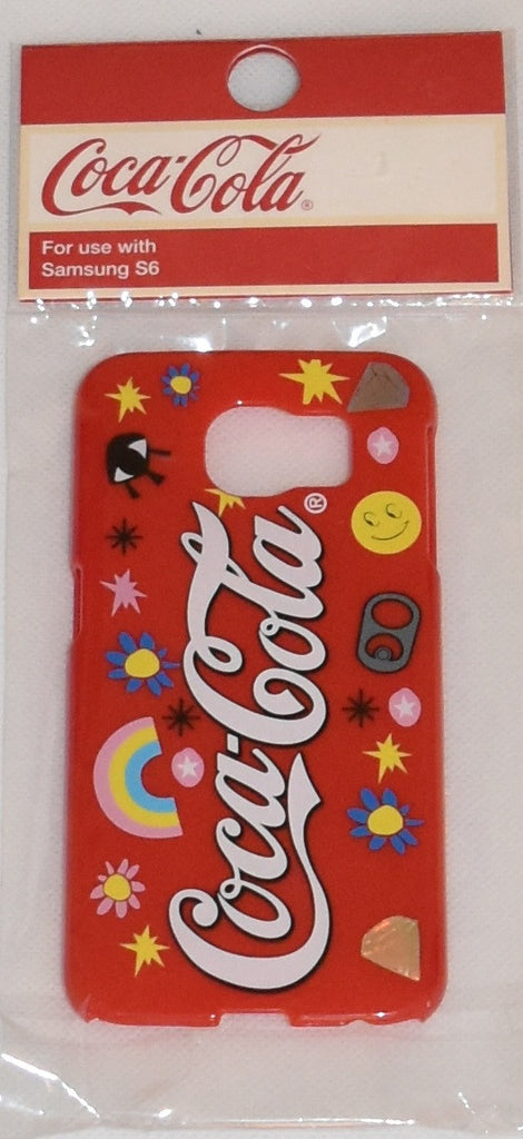 Coca Cola Mobile Phone Cover Case Samsung S6 COKE Red Primark NEW with tags