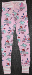 Little Mermaid PJ bottoms Primark Disney Ladies Womens Leggings UK Size 4 to 20