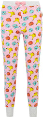PRIMARK POKEMON PJ Bottoms Pikachu Bulbasaur Pink Leggings UK Sizes 4 to 8