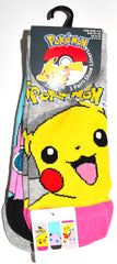 Pokemon Socks Primark Shoe Liner Trainer Sock 3 Pack Pikachu Size 4 to 8