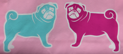 Pug Me Pug Dog TOTE SHOPPER SHOPPING SHOULDER BAG WIPE CLEAN Up And Ready BNWT - Click. Buy. Love. - 2
