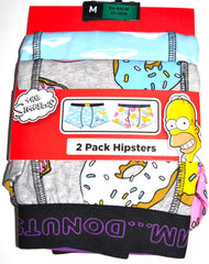 Simpsons Pants Mens Homer Primark 2 Pack Hipster Underwear Sizes M to XL