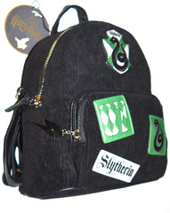 Harry Potter Back Pack Primark Slytherin Rucksack Bag Backpack Hogwarts Black