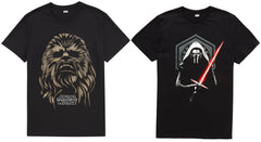 Star Wars T-Shirts Wookie Kylo Ren Chewbacca XS-XXXL 100% cotton - Click. Buy. Love. - 1