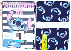 Stitch PJ Set Disney Primark Mornings Be Lilo Womens Ladies Pyjamas Size 6 to 20